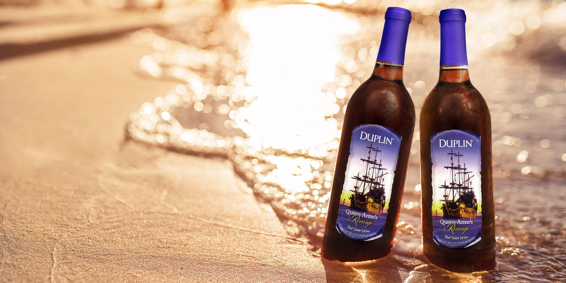 Duplin Winery Queen Anne's Revenge only shows up once a year.