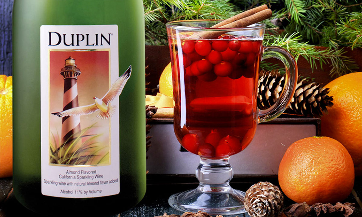 Duplin Winery Cranberry Champagne Punch