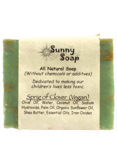 Sunny Soap Sprig of Clover