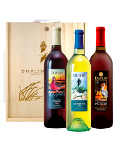 Coastal Birds Wine Gift Set