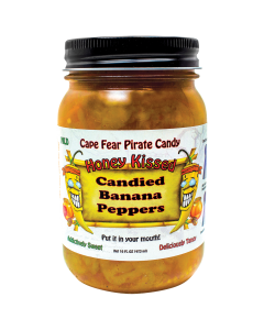 Honey Kissed Candied Banana Peppers