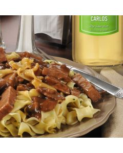 Beef Carlos With Noodles