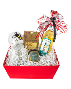 Bee Mine Gift Basket