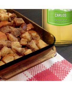 Carlos Wine Bread Pudding