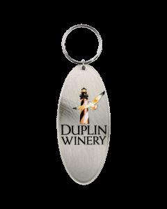 Duplin Metal Lighthouse Keychain
