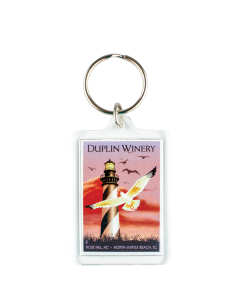 Duplin Lighthouse Keychain