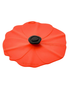 Poppy Wine Glass Cover