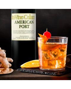 Port Ginger Fizz Cocktail