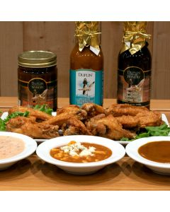 Sauces make the wings, the snack world's most important contribution to Super Bowl Sunday or the NCAA basketball tournament or any major sports event for that matter.
