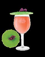 Grape Wine Glass Covers