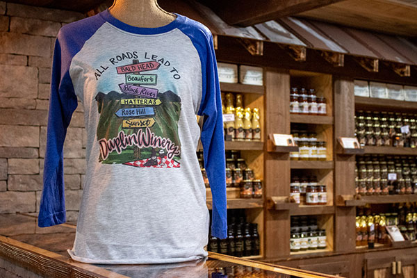 All Roads Lead to Duplin Winery T-Shirt