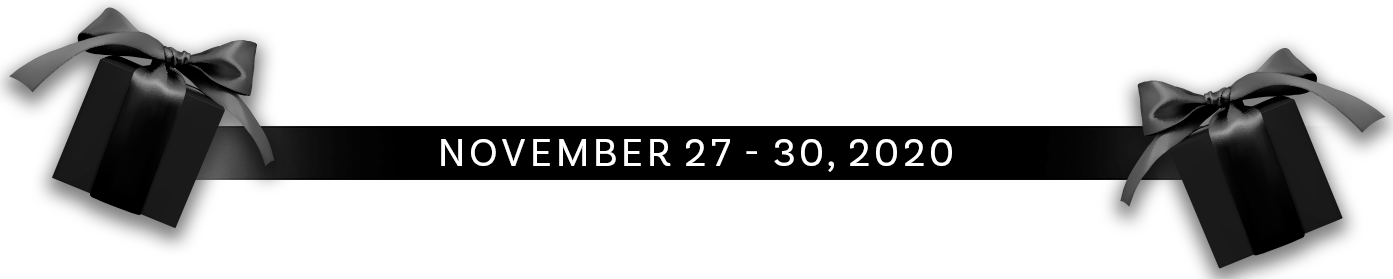 Black Friday Save The Sale Date