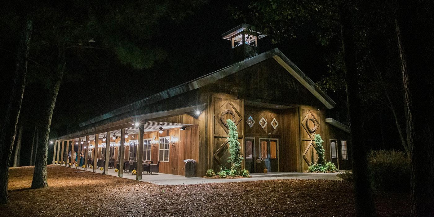 The Chapel in Duplin's Vineyards Wedding Venue