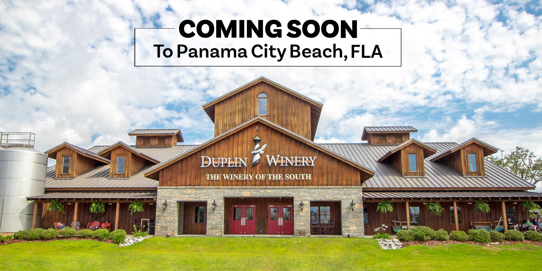 Duplin Winery opens in 2022 in Panama City Beach, Fla.