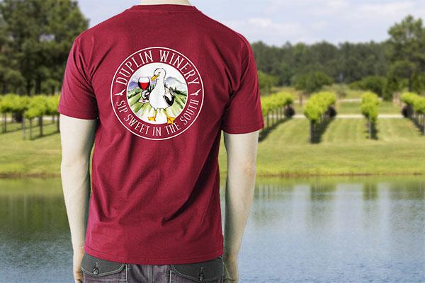 Gull Wine Shirt
