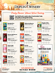 Pinky Raisin' Wine Score Sheet