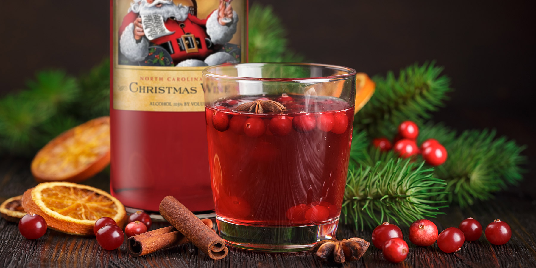Duplin red Christmas Wine adds berry sweetness to tangy pineapple juice and snappy ginger ale in this blend named Ronnie's Christmas Red Punch.