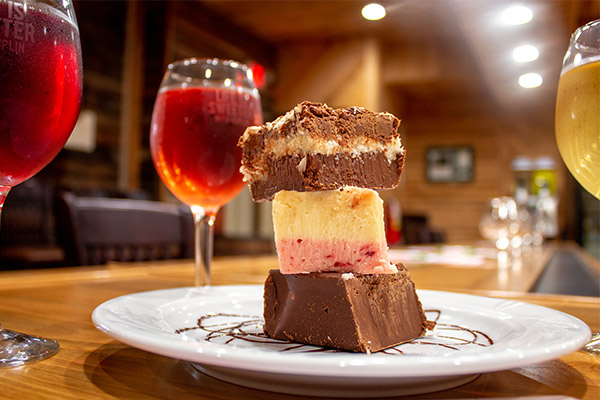 Fudge & Wine Pairing