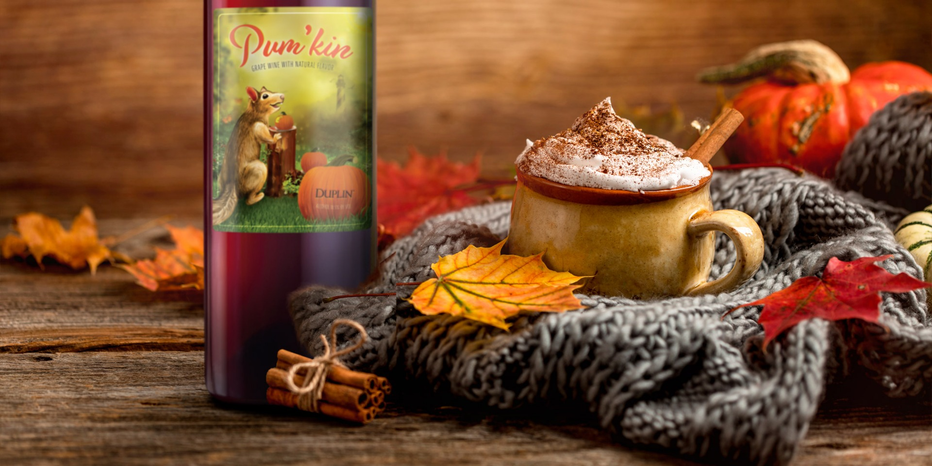 Pumpkin Fireball Pick Me Up is the coziest coffee drink you'll sip this fall.