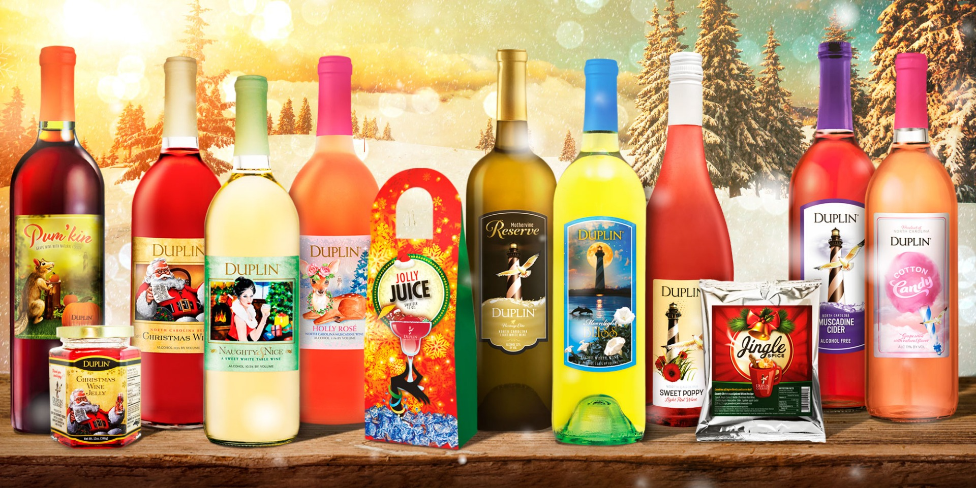 Host a wine festival at home with this collect of Duplin's best new wines of 2021.