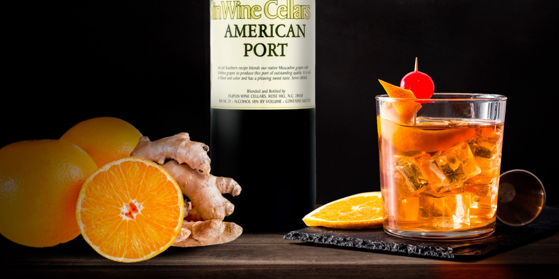 Port Ginger Fizz with spice rum shakes up Thanksgiving cocktails