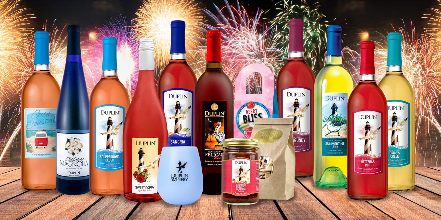 This 4th of July Wine Tasting Kit celebrates America's first wines.